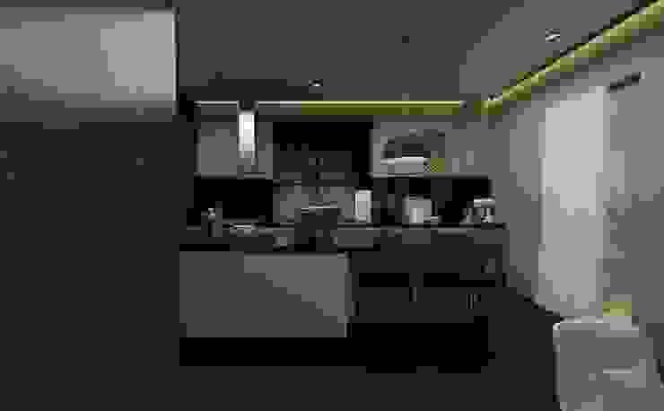 PRATIKIZ MIMARLIK/ ARCHITECTURE – Mutfak: modern tarz , Modern