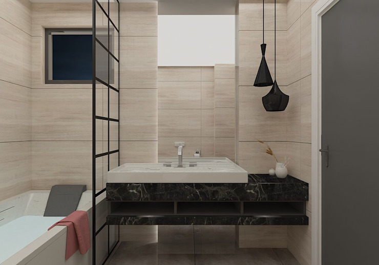 PRATIKIZ MIMARLIK/ ARCHITECTURE BathroomSinks