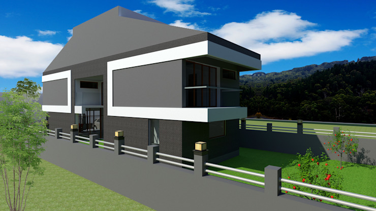 Ön Cephe Detay PRATIKIZ MIMARLIK/ ARCHITECTURE Modern