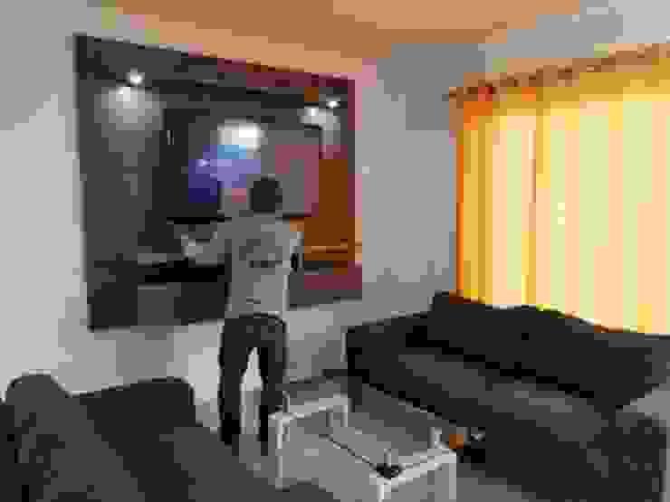 Centro tv aereo de Decoraciones y acabados RADP Moderno Tablero DM