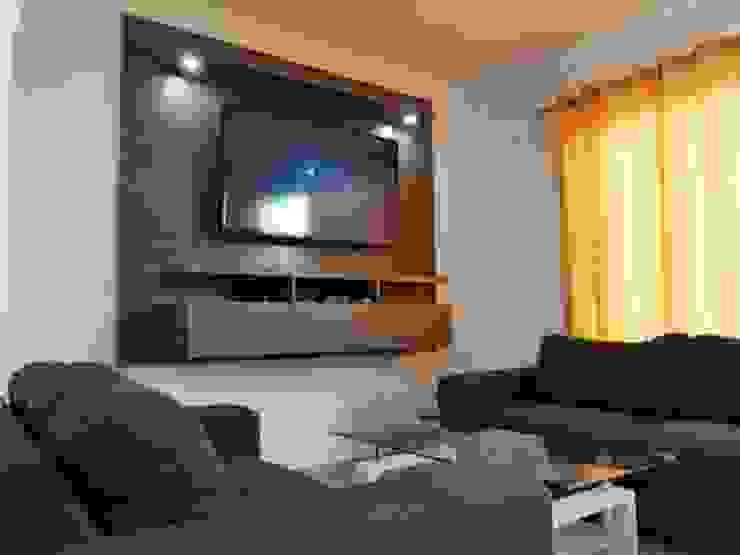 Centro tv aereo de Decoraciones y acabados RADP Moderno