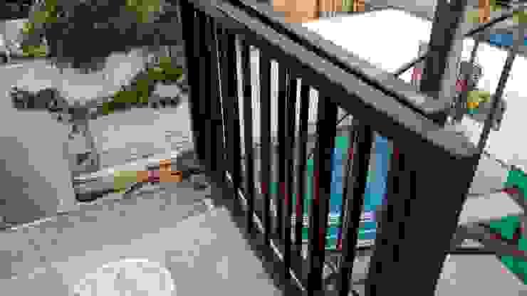 Proyecto de adecuación de terraza y salón de Yoga. Constructora Crowdproject Balcón