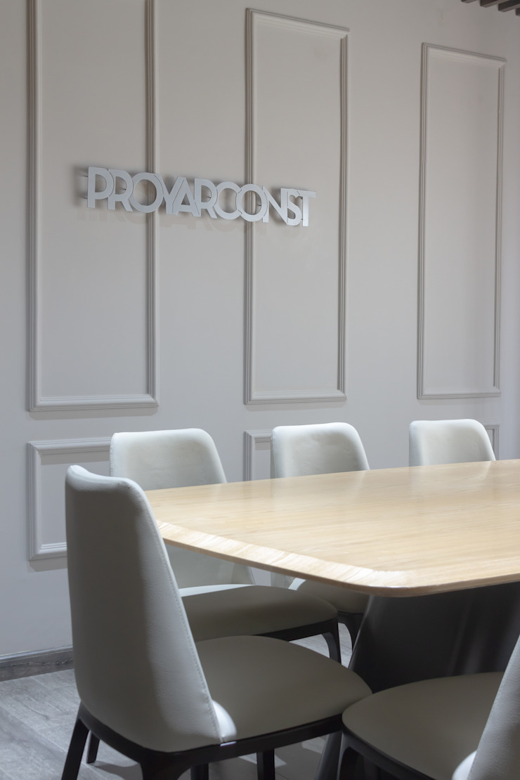 CONSTRUCTORA PROYARCONST Estudios y despachos de estilo moderno de CARDONA & ACEVEDO ARQUITECTOS Moderno