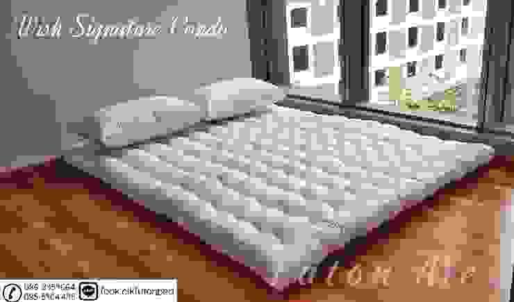 ที่นอนญี่ปุ่น ฟุตง traditional japanese futon bed : ที่เรียบง่าย  โดย chalaluck, มินิมัล