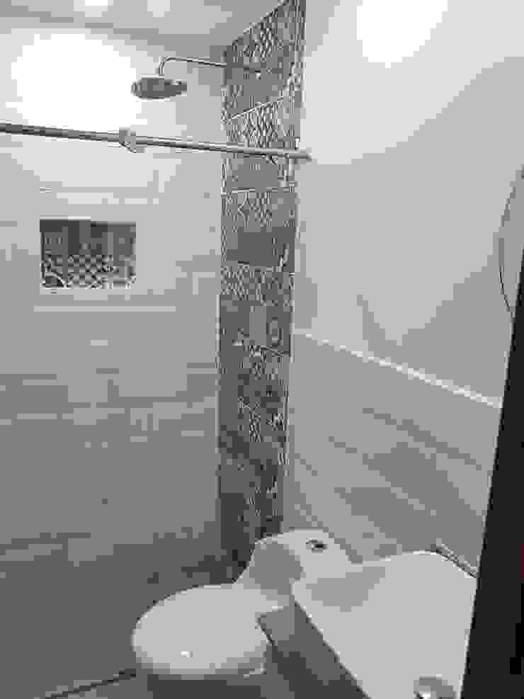 Remodelación de baño Baños de estilo moderno de Remodelaciones Luján Moderno Cerámico