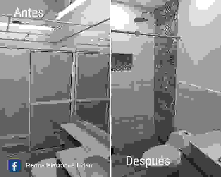 Remodelación de baño de Remodelaciones Luján Moderno