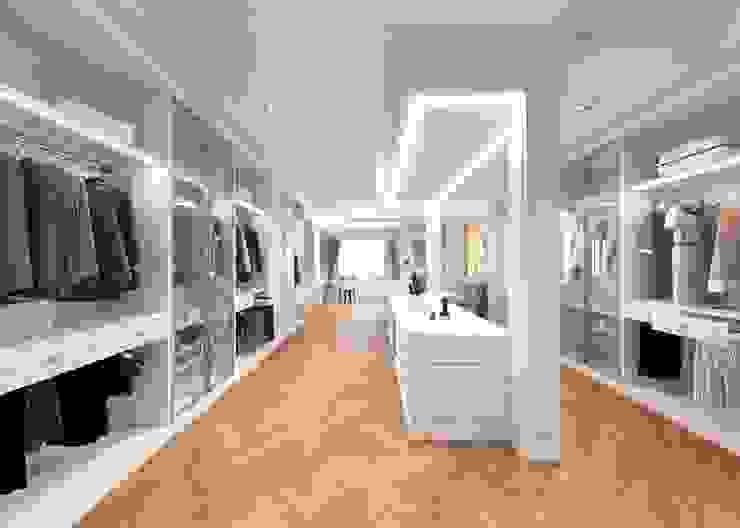 ผลงานการออกแบบห้องแต่งตัว: ทันสมัย  โดย Bcon Interior , โมเดิร์น