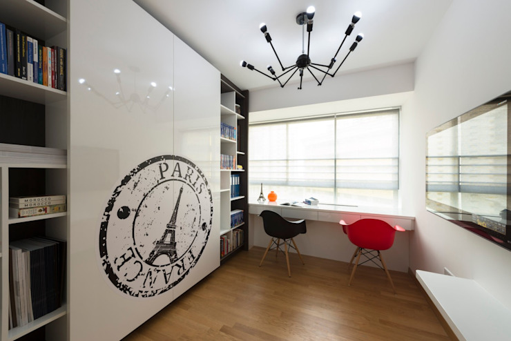 Modern style study/office by Space Factor Pte. Ltd Modern