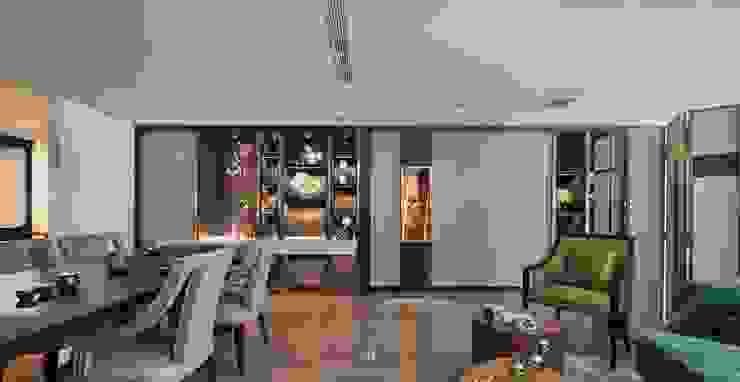 富壁寶鼎珠寶店|FBBD Jeweler 理絲室內設計有限公司 Ris Interior Design Co., Ltd. Office spaces & stores Copper/Bronze/Brass Amber/Gold