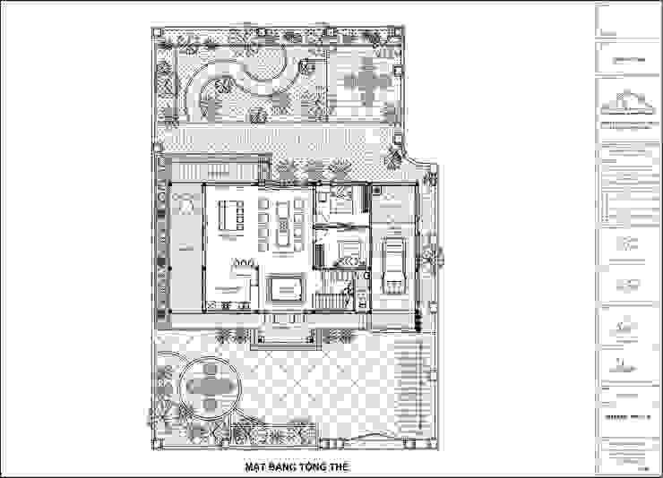 MẪU BIỆT THỰ TÂN CỔ ĐIỂN MÁI THÁI 2 TẦNG TẠI HẢI DƯƠNG bởi Công ty CP kiến trúc và xây dựng Eco Home