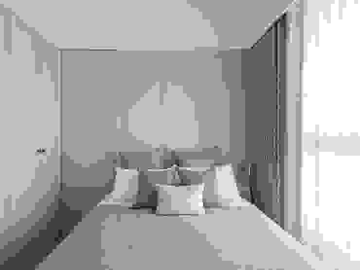 Scandinavian style bedroom by 寓子設計 Scandinavian