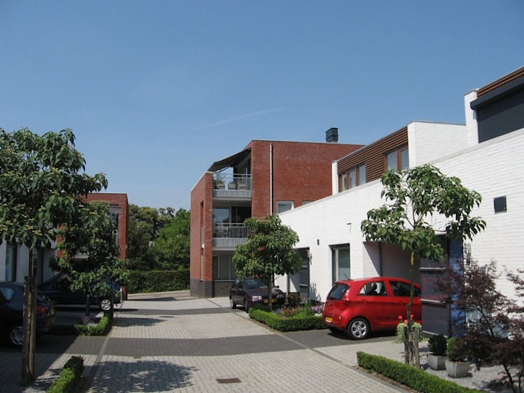 Patiowoningen en appartementen Hennemettenstraat, Gronsveld van Verheij Architecten BNA Modern