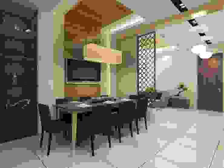 Chawla Residence in Gurugram Space Interface Minimalist dining room