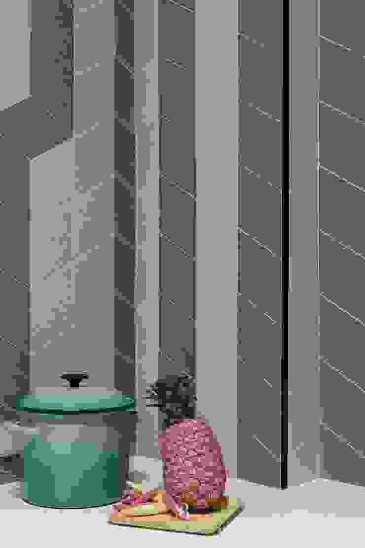 紛染.綿綿|Trochee of Tints 理絲室內設計有限公司 Ris Interior Design Co., Ltd. 牆面 磁磚 Green