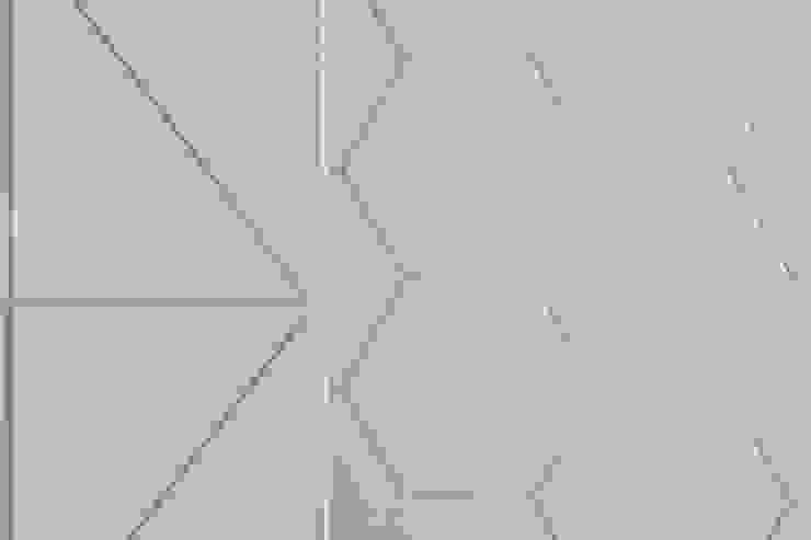 紛染.綿綿|Trochee of Tints 理絲室內設計有限公司 Ris Interior Design Co., Ltd. 牆面 磚塊 White