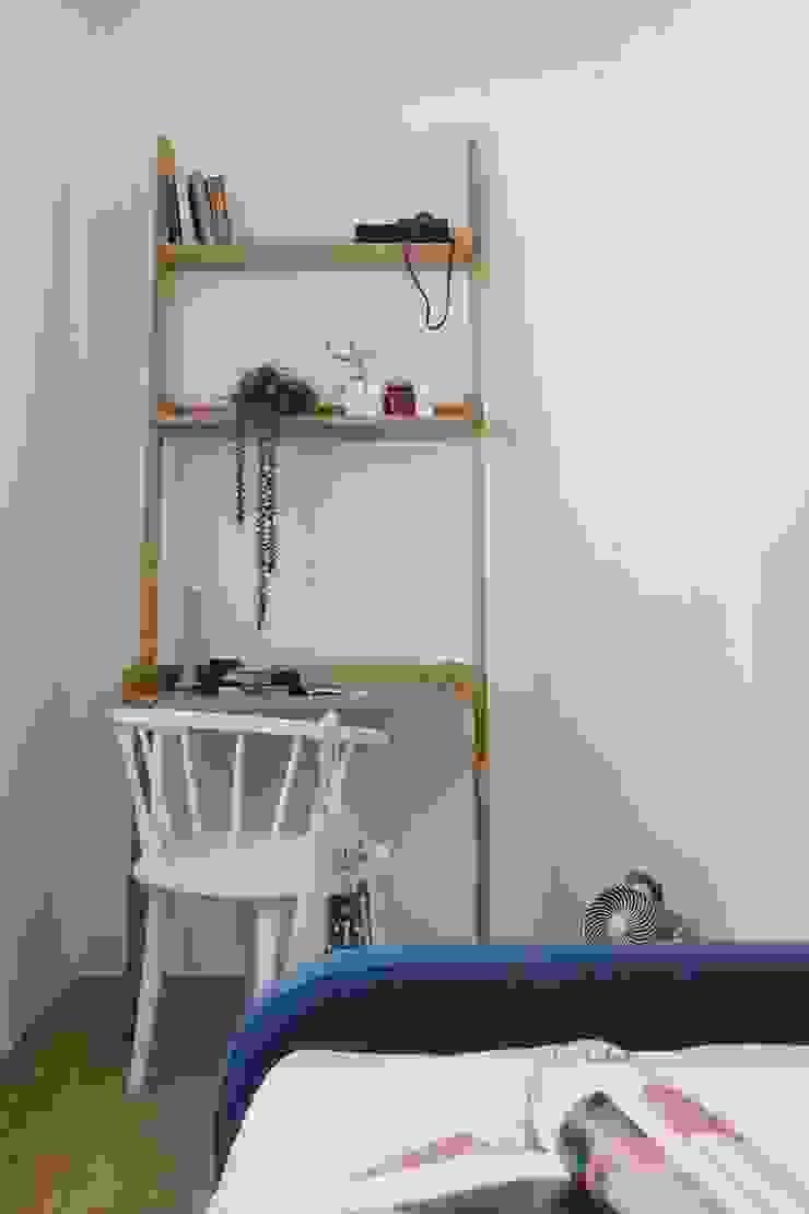 紛染.綿綿|Trochee of Tints 理絲室內設計有限公司 Ris Interior Design Co., Ltd. 牆面 實木 White