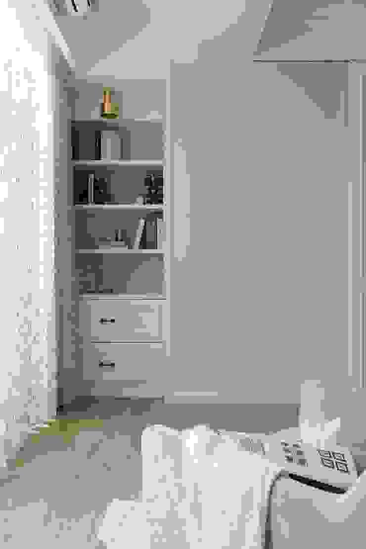 紛染.綿綿|Trochee of Tints 理絲室內設計有限公司 Ris Interior Design Co., Ltd. 小臥室 木頭 Blue