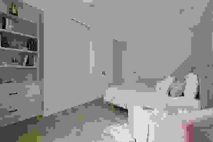 紛染.綿綿|Trochee of Tints 理絲室內設計有限公司 Ris Interior Design Co., Ltd. 小臥室 合板 Blue