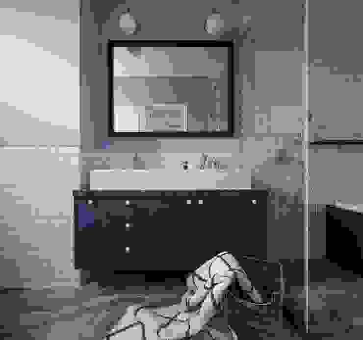 紛染.綿綿|Trochee of Tints Modern Bathroom by 理絲室內設計有限公司 Ris Interior Design Co., Ltd. Modern Granite