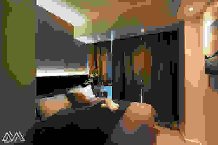 Nordic Urban Scandinavian style bedroom by MVRX Designs Scandinavian