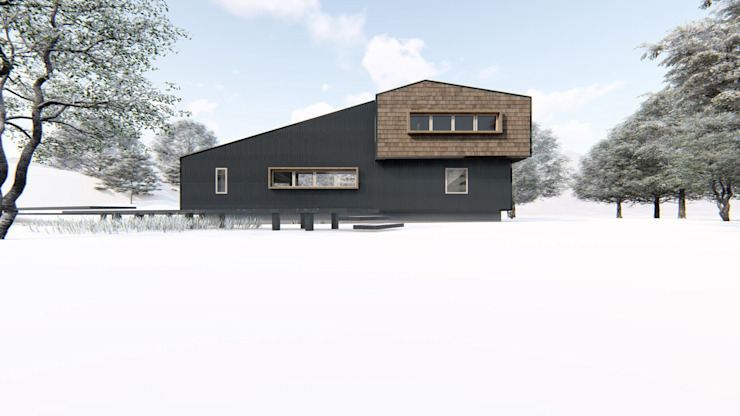 casa rural - Arquitectos en Coyhaique Casas unifamilares