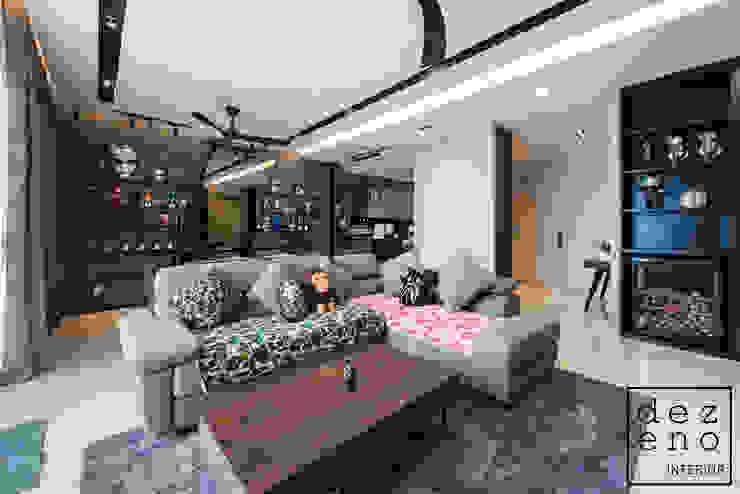 LIVING AREA Dezeno Sdn Bhd Living room Plywood