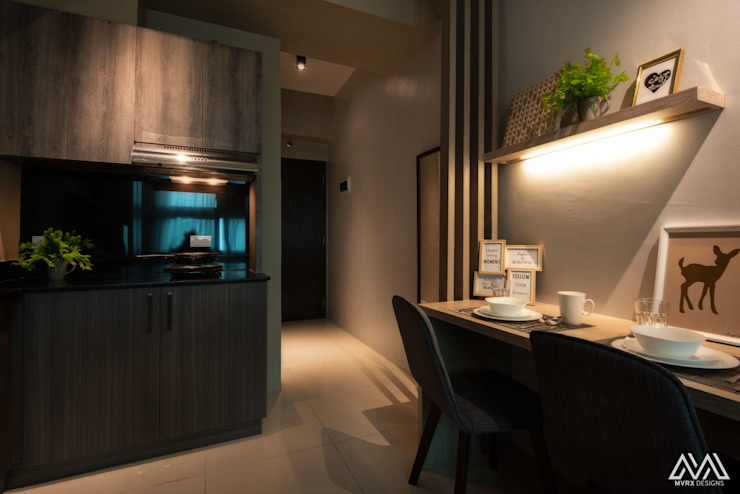 Warm & Cozy—The Symphony Tower 2 (QC) by MVRX Designs Modern