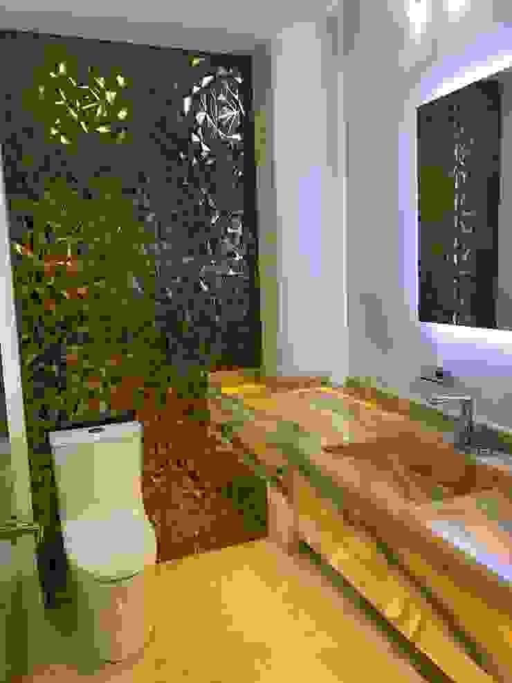 Salle de bain minimaliste par AMSR ARQUITECTOS en Málaga Minimaliste