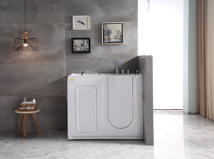 Vasca da bagno con sportello per anziani e disabili Inbagno BagnoVasche & Docce Bianco
