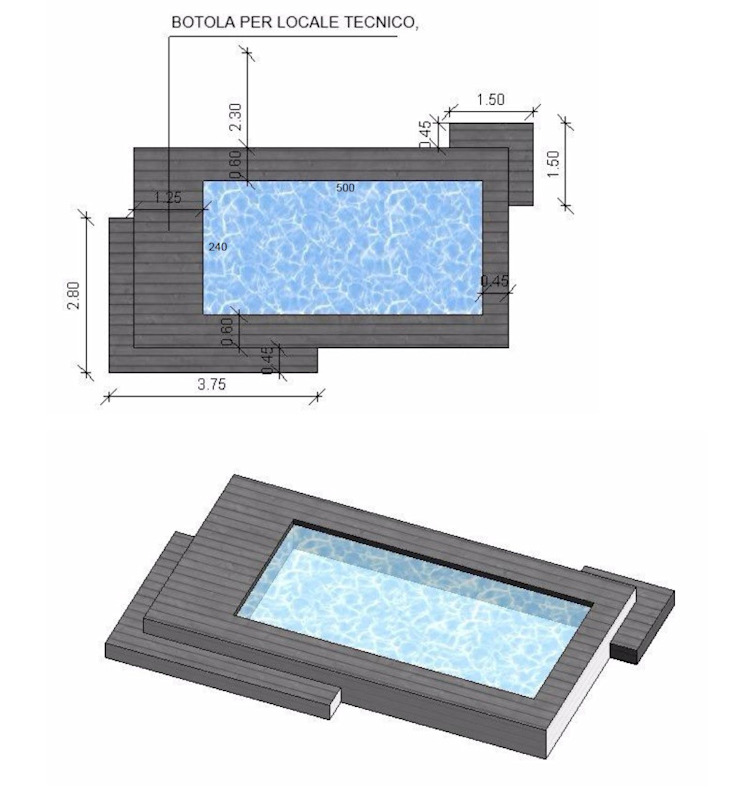 Modern pool by Aquazzura Piscine Modern