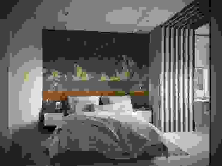 Projekty,  Małe sypialnie zaprojektowane przez ARTWAY центр профессиональных дизайнеров и строителей, Nowoczesny