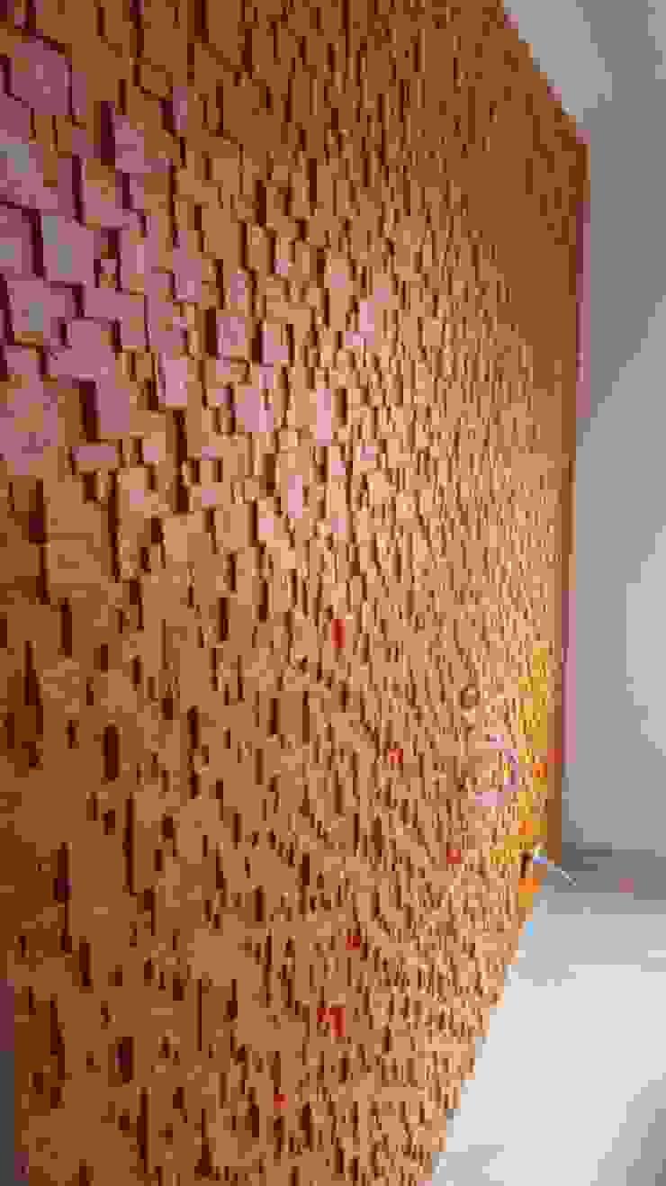 Diseño y Decoración de Muros Paredes y pisos modernos de N&V diseño y construcción Moderno