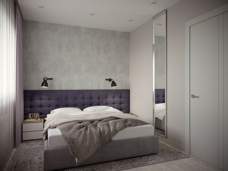 小臥室 by ARTWAY центр профессиональных дизайнеров и строителей, 現代風