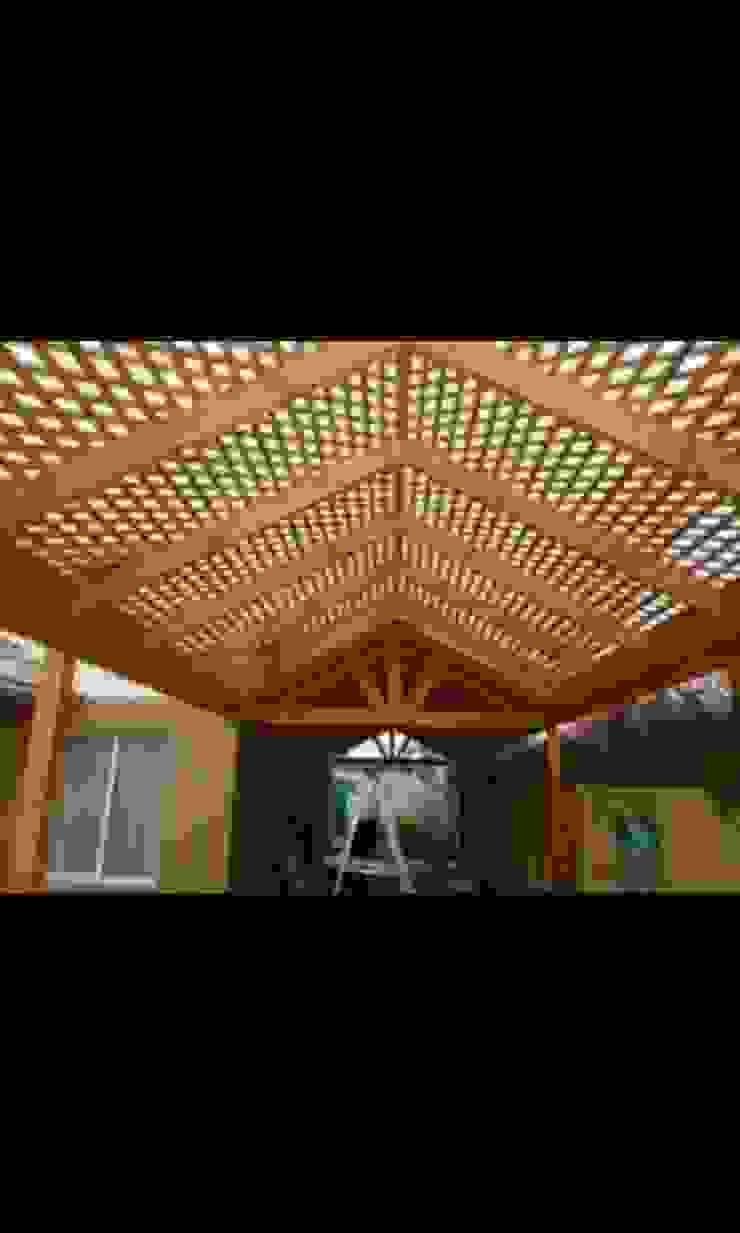 Techo de Terraza de N&V diseño y construcción Moderno