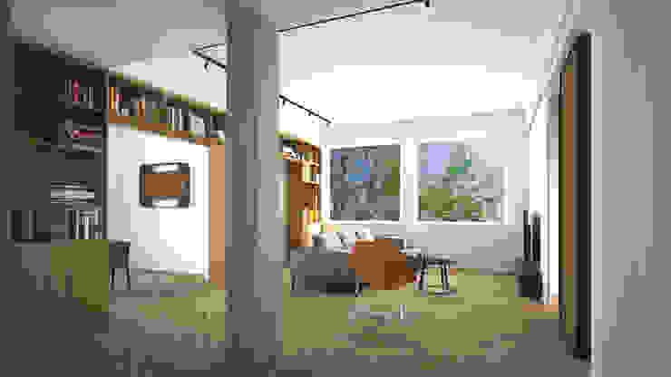 Grippo + Murzi Architetti Modern living room