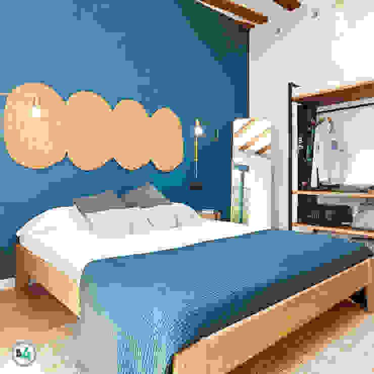Proyectos: Dormitorios pequeños de estilo  de Blok4 Constructora, Ecléctico