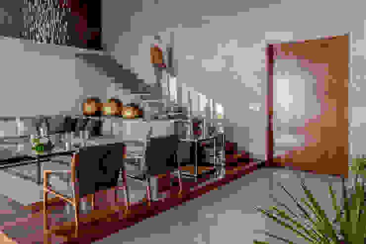 GENETICA ARQ STUDIO 现代客厅設計點子、靈感 & 圖片