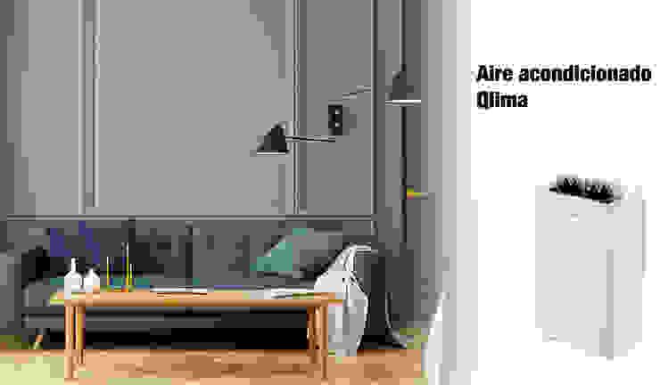 Comprar aire acondicionado Qlima ferrOkey - Cadena online de Ferretería y Bricolaje HogarArtículos del hogar Blanco