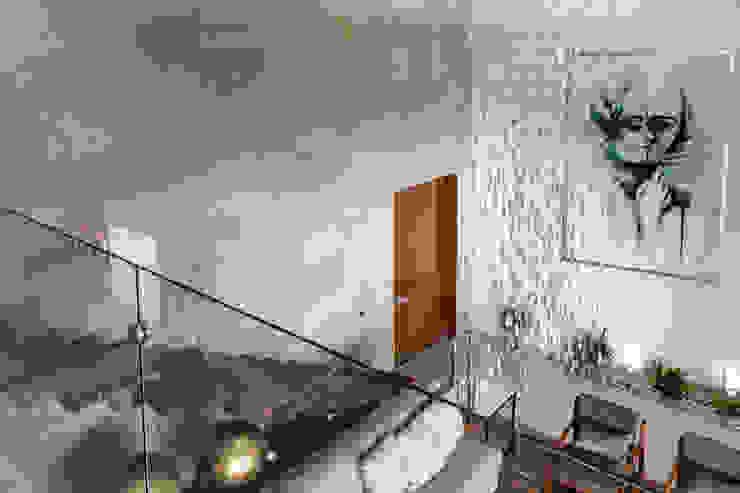 SALA Pasillos, vestíbulos y escaleras modernos de GENETICA ARQ STUDIO Moderno