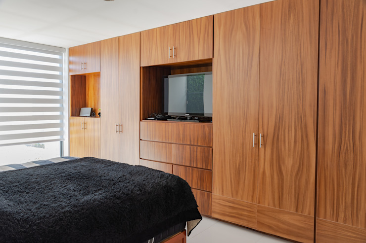 HABITACION Dormitorios modernos de GENETICA ARQ STUDIO Moderno