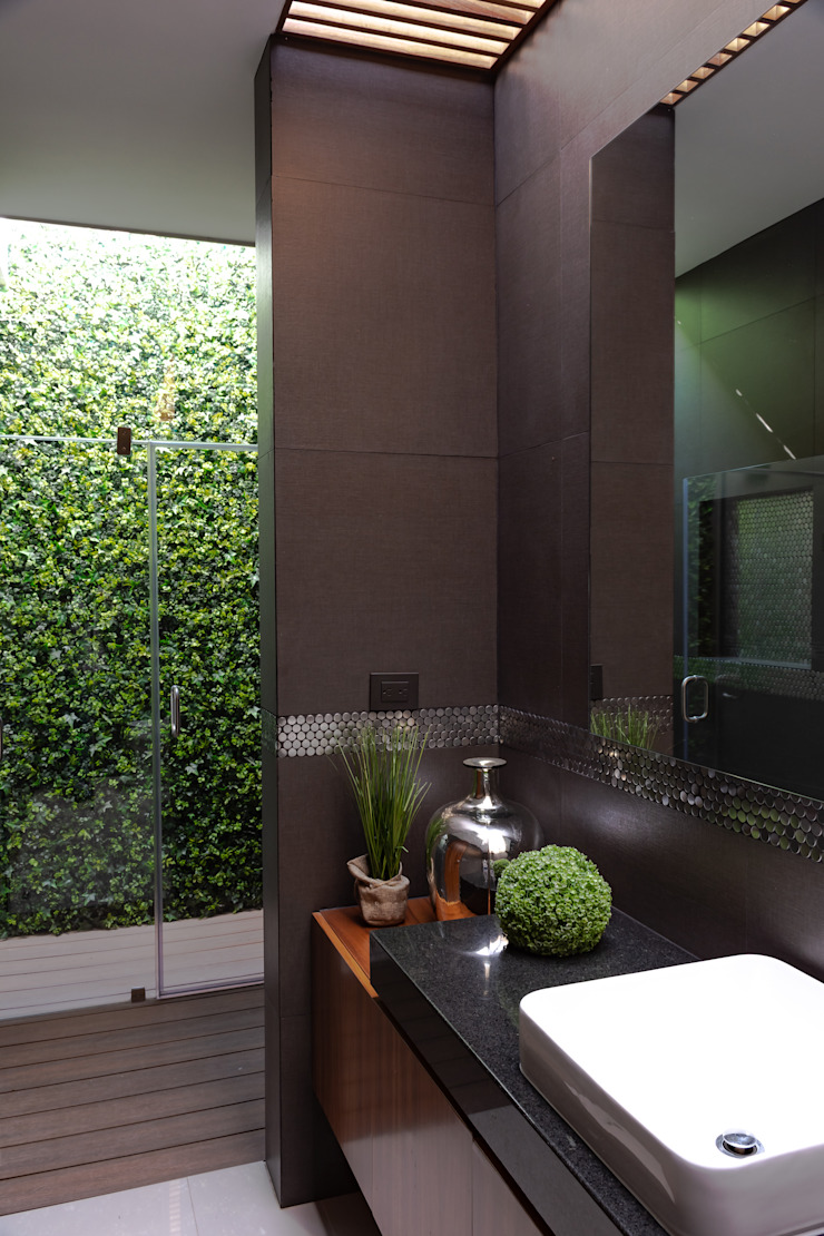 GENETICA ARQ STUDIO 現代浴室設計點子、靈感&圖片
