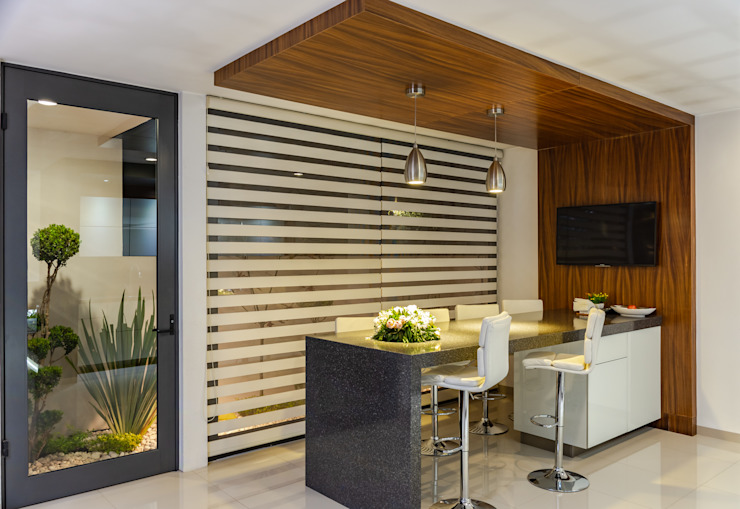 GENETICA ARQ STUDIO 現代廚房設計點子、靈感&圖片