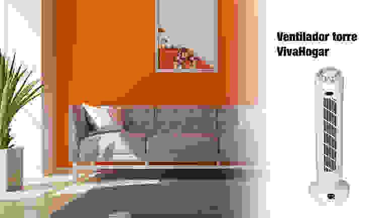 Comprar ventilador de torre ferrOkey - Cadena online de Ferretería y Bricolaje HogarArtículos del hogar Blanco