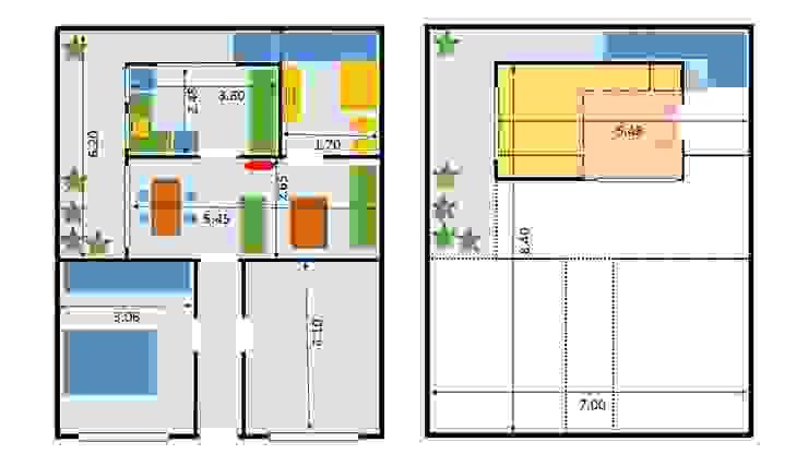 Plano Proyecto OOST / Sabrina Gillio Condominios