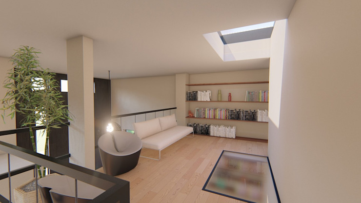 Arquitectura AD Modern living room