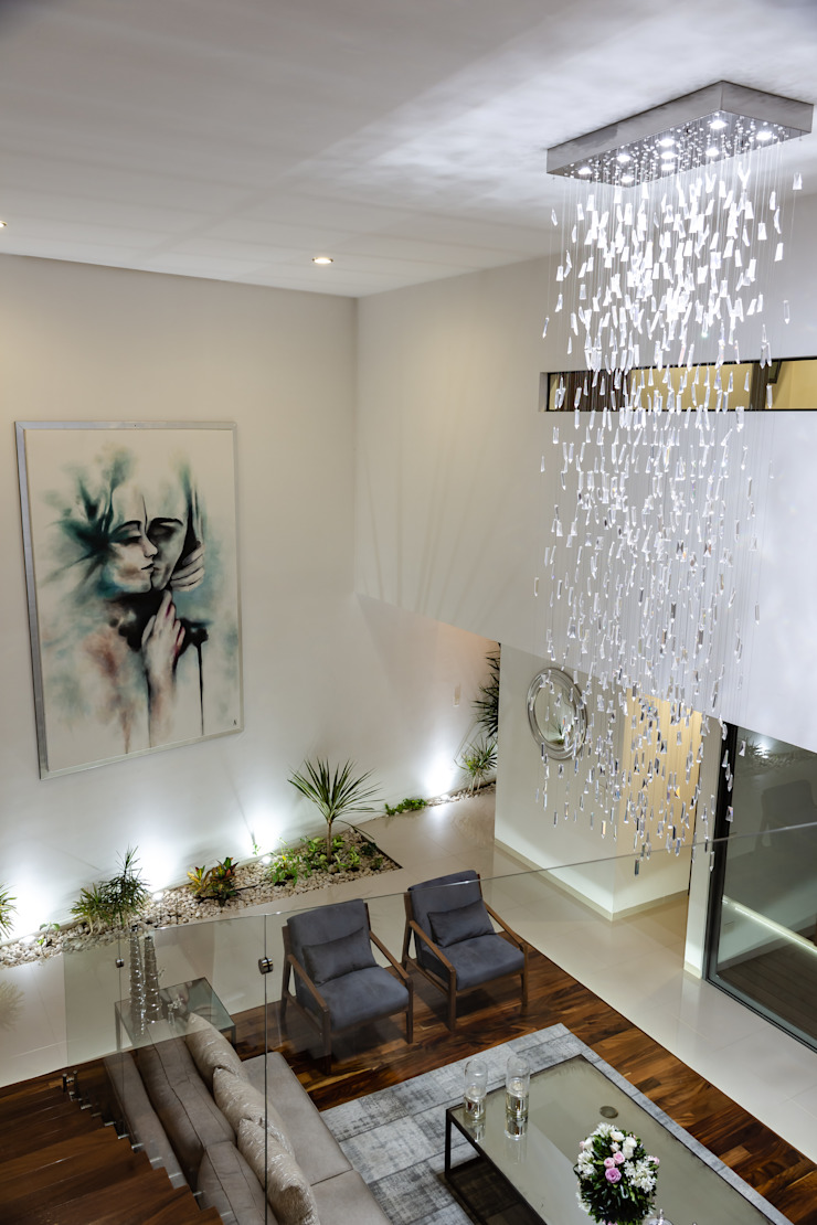 SALA Salones modernos de GENETICA ARQ STUDIO Moderno