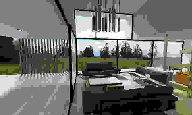 Living-Terraza Livings de estilo moderno de Vetas Sur Moderno