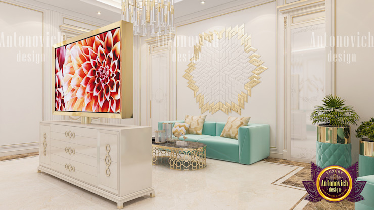 Home Interior Colors by Luxury Antonovich Design
