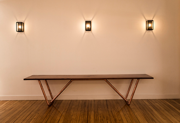 Intarq SpA Centre d'expositions scandinaves Cuivre / Bronze / Laiton Rose
