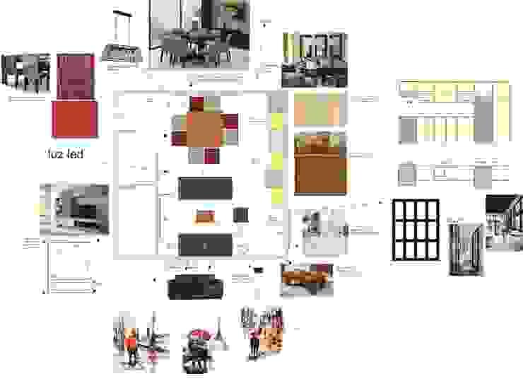TABLERO DE INSPIRACIÓN Jardines de invierno modernos de Deco Abitare Moderno